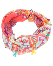 Tweet Vibrant Tribal Snood Multi