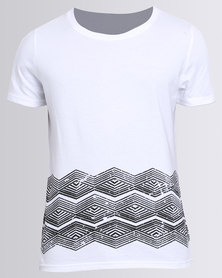 Unruly Tribal T-Shirt White