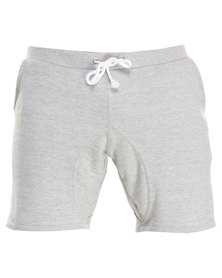 Unruly College Shorts Grey