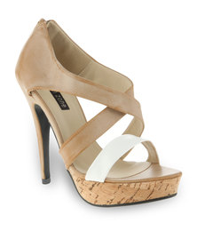 Urban Zone Gazelle Heels Tan