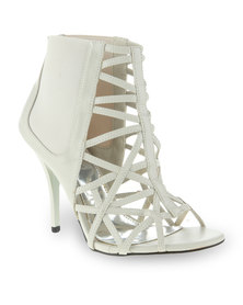 Urban Zone Corby Heels Off White