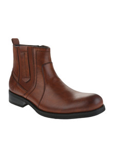 Urbanart Pilar 13 Lea Ankle Boots Choc