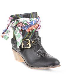 Urbanart Sendra Ankle Boots Black