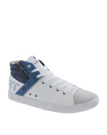 Urbanart Ghost 1 Wax / Suede Sneaker White