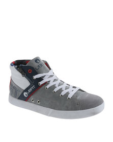 Urbanart Ghost 1 Wax / Suede Sneaker Grey