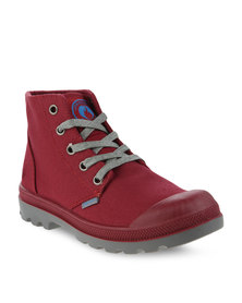 Urbanart L Columbia Can Ankle Boots Burgundy