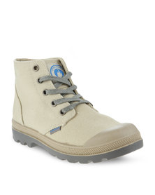 Urbanart L Columbia Can Ankle Boots Stone Beige