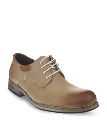 Urbanart Pillar 2 Lace-Up Shoes Tan