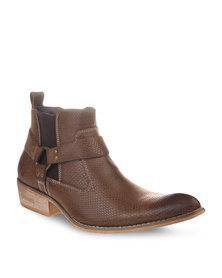Urbanart Jerico 4 Boots Brown