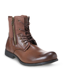 Urbanart Military Boots Brown