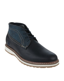 Urbanart Earth 3 Wax Boot Navy