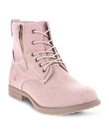 Urbanart L Bunka Boots Pink