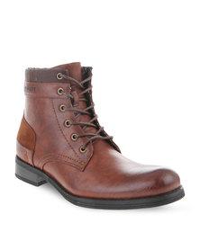 Urbanart Pillar 8 Boots Brown