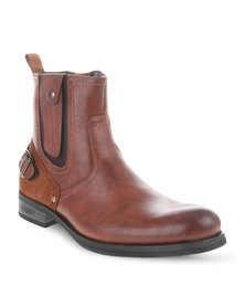Urbanart Pillar 6 Boots Brown