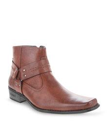 Urbanart Bronco Lea Boots Brown