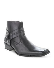 Urbanart Bronco Lea Boots Black