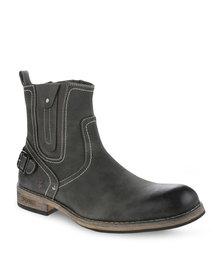 Urbanart Pillar 6 Boots Dark Grey
