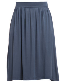 Utopia Midi Skirt Charcoal