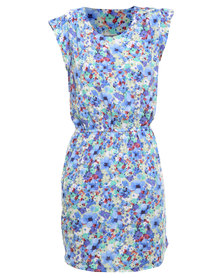 Utopia Summer Viscose Tunic Dress Multi