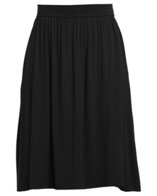 Utopia Midi Skirt Black