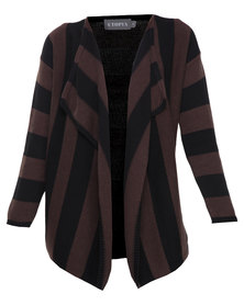 Utopia Marled Cotton Fall Away Cardigan Multi