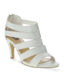 Utopia Heeled Sandal White
