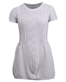 Utopia Knitwear Pinny Grey