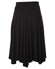 Utopia Flare Skirt Black