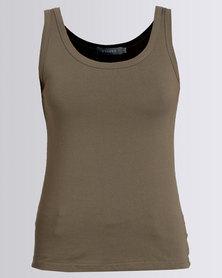 Utopia Basic Vest Olive