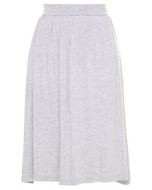 Utopia Midi Skirt Grey