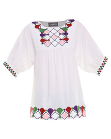 Utopia Artisan Top White
