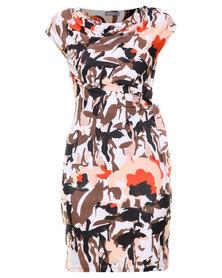Utopia Colourblock Dress Multi