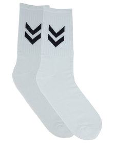 Utopia Men's Sports Socks White
