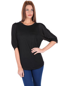Utopia Panel Top Black