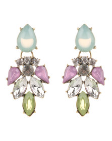Utopia Stonework Earrings Multi