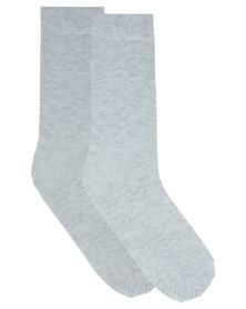 Utopia Basic Men's Socks Grey Melange