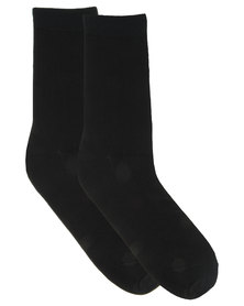 Utopia Basic Men's Socks Black