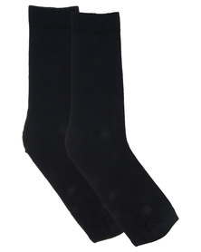 Utopia Basic Men's Socks Navy
