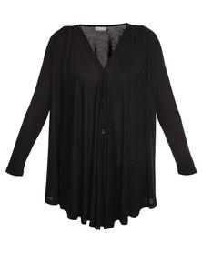 Utopia Button Down Shirt Black