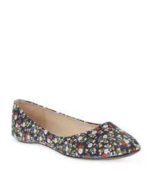 Utopia Printed Pumps Blue