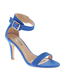 Utopia Barely There Heel Sandal Blue