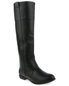 Utopia High Leg Boots Black