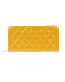 Utopia Quilted Wallet Yellow