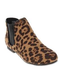 Utopia Fashion Chelsea Boots Neutrals