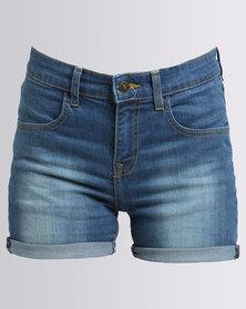 Utopia Denim Shorts Medium Wash