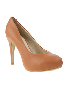 Utopia Pixie Court Shoe Brown