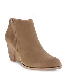 Utopia Casual Ankle Boots Brown