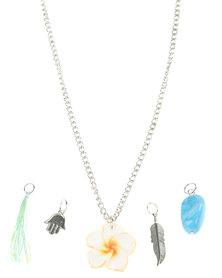 Utopia Bohemian Pendant Necklace Set Multi