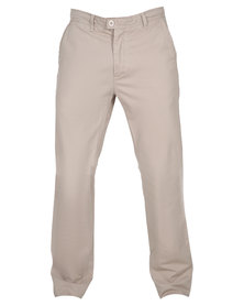 Utopia Chino Long Pants Khaki