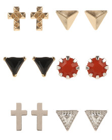 Utopia Triangle & Cross Stud Multi Pack